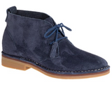 Cyra Catelyn WorryFree Suede® Boots in Navy