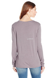 "The suzanne long sleeve in amethyst ""Together we have it all"""