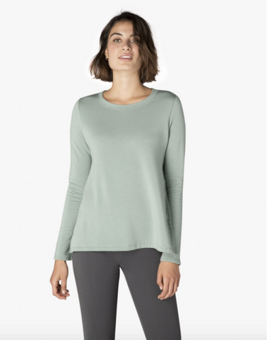 Come together pullover in light sage