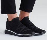 Xanady woven slip-on sneaker in black