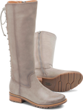 Sharnell grey adjustable calf tall boots