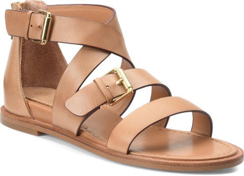 Sharni strappy sandals in twine tan