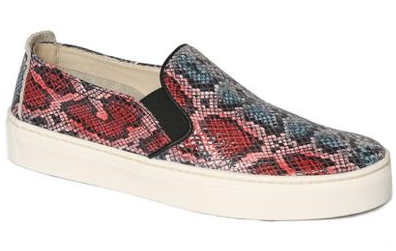 Sneak name slip-on sneakers in marine snake