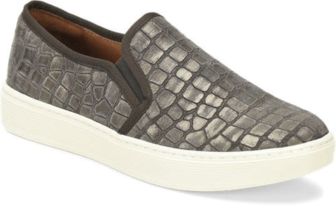 Somers grey slip-on sneakers