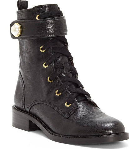 Velka combat booties in black