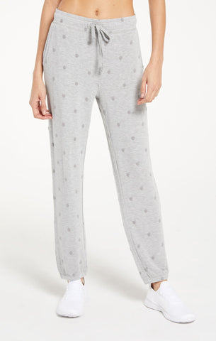 Marcel dot jogger in heather grey