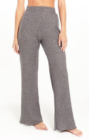 Morning thermal pant in charcoal