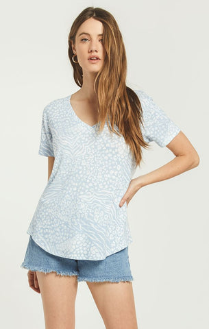Ridley animal tee in forever blue