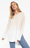 Ombre weekender top in birch