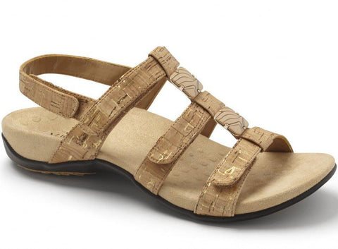 Amber adjustable cork sandals