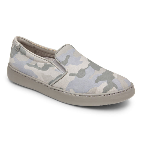 Avery pro camo sneakers in grey