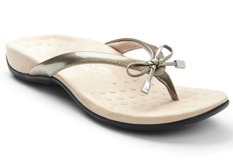 Bella pewter sandals