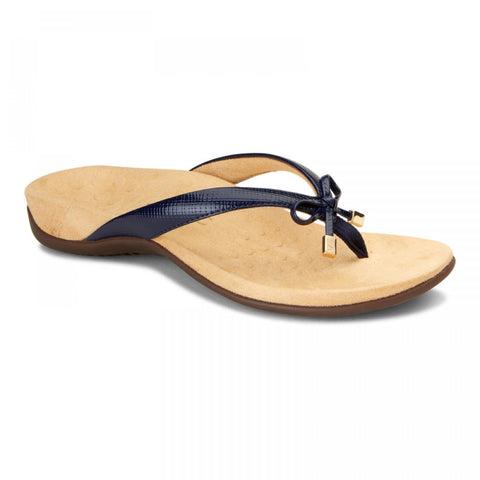 Bella lizard navy sandals