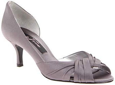 Culver Steel Satin Formal Pumps