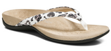 Dillon white leopard sandals