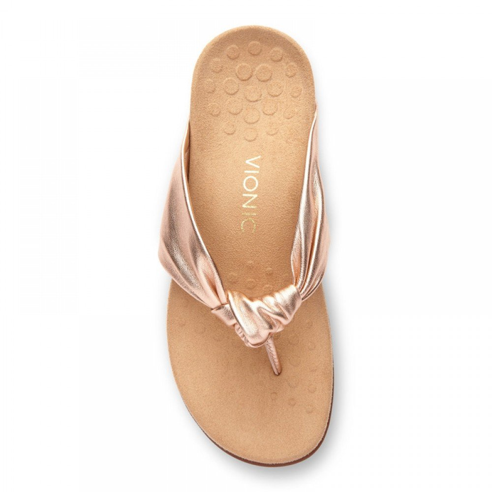 248863cc05e030 Pippa rose gold sandals – STEP in 4 MOR