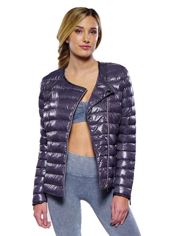 Harley lightweight puffer jacket in charcoal