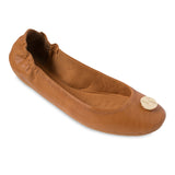 Liv tan interchangeable ballet flats