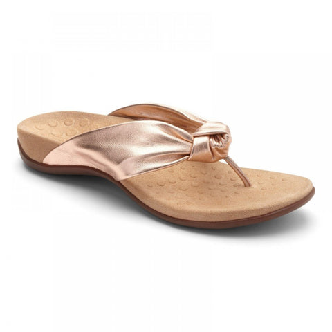 Pippa rose gold sandals