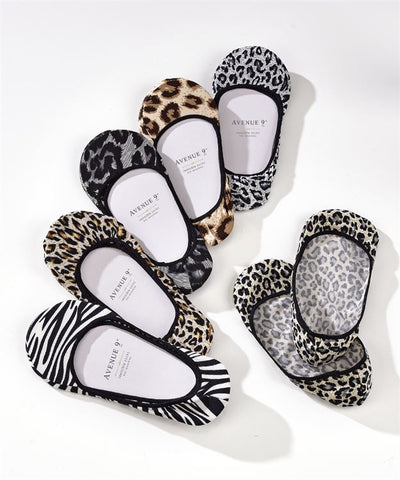 Animal print socklets