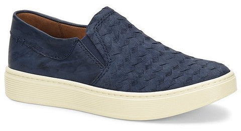 Somers navy slip-on sneakers