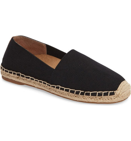 Valeri espadrille in black