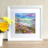 Framed Print - Summer Days (square version)