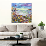 Canvas Print of 'Summer Days' (square version)