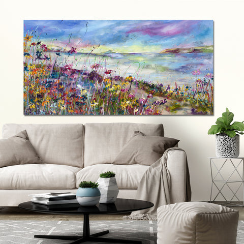 Canvas Print of 'Summer Days'
