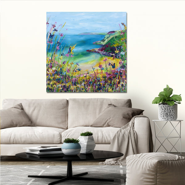 Canvas Print of 'Butterfly Bay'