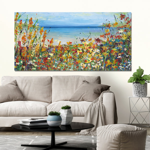 Canvas Print of 'South Coast'