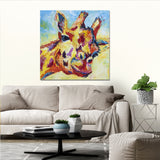 Canvas Print of 'Giraffe'