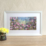 Framed Print - Pink Meadow