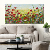 Canvas Print of 'Poppy Dream'