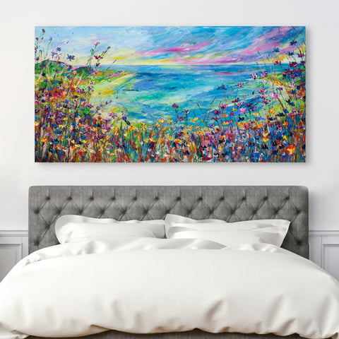 Canvas Print of 'Secret Cove'