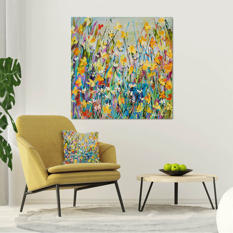 Canvas Print of 'Spring Day'