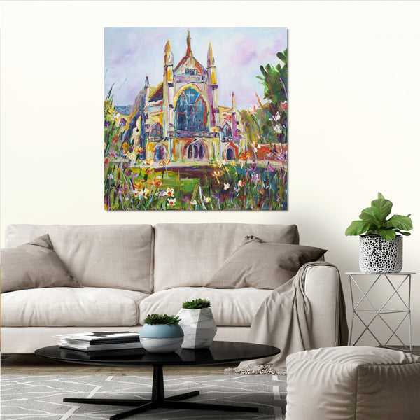 Canvas Print of 'Winchester Cathedral'