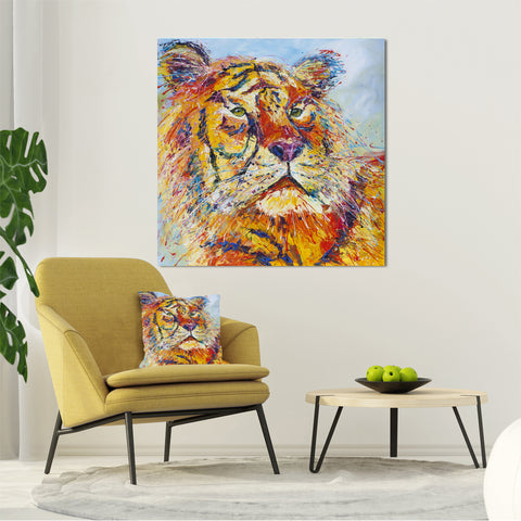 Canvas Print of 'Tiger'