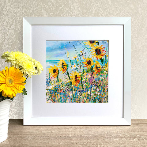 Framed Print - You are my sunshine (Square)
