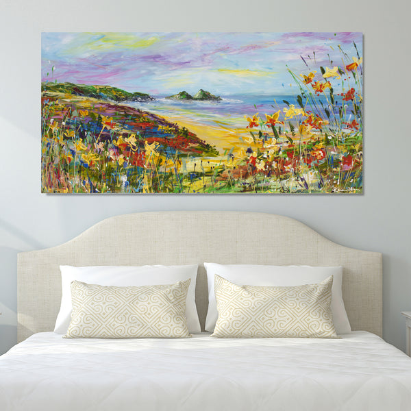 Canvas Print of 'Holywell'