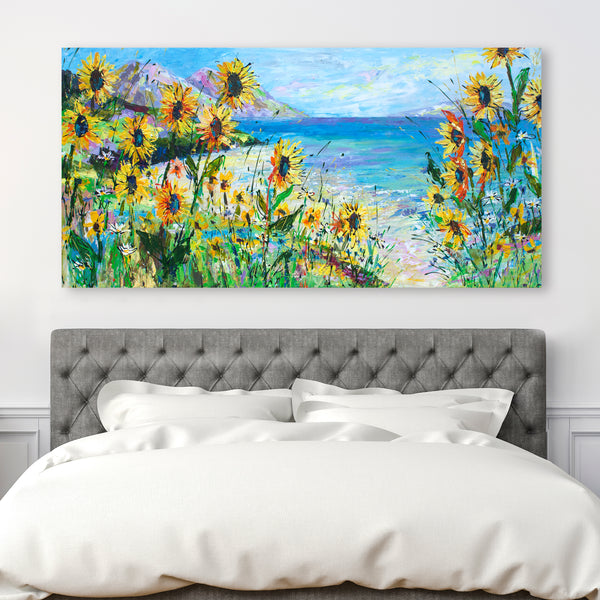 Canvas Print of 'You Make Me Happy'