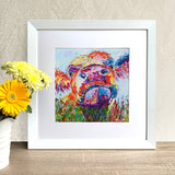 Framed Print - Moo Cow