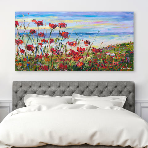 Canvas Print of 'Lest We Forget'