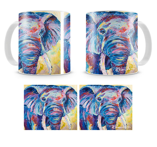 Mug of 'Nellie Ellie' Elephant