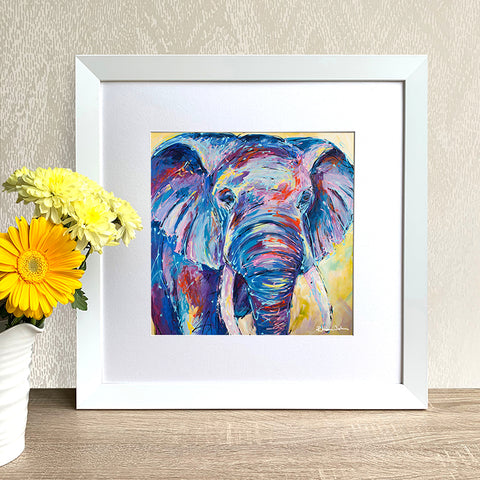 Framed Print - Nellie Ellie, Elephant