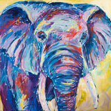 Canvas Print of 'Nellie Ellie' Elephant