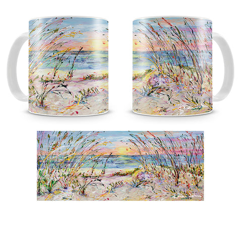Mug of 'Beach Love'
