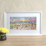 Framed Print - Beach Love