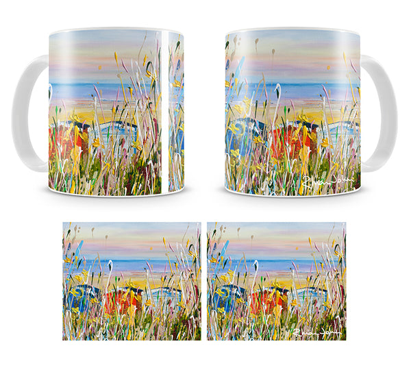 Mug of 'Beach Huts'