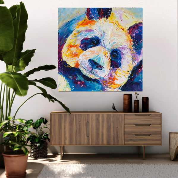 Canvas Print of Panda